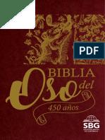 450 años Biblia del Oso