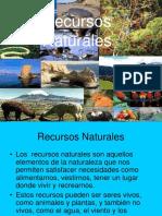 Recursos Naturales 4º Basico