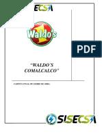 Carpeta Final de Cierre de Obra Waldos