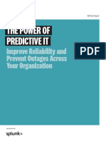 The Power of Predictive It