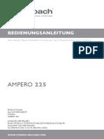 Welbach Ampéro 225