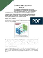Fluoride Battery Article