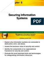 Chapter 6 - Securing Information Systems