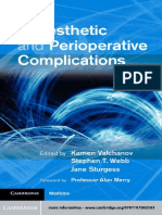 Anaesthetic and Perioperative Complications. 2011