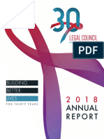 2018 Annual Report - Legal Council for Health Justice