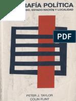 Geografía política. Economía-mundo, estado nación y localidad
