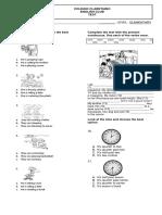 Final Test Elementary Level