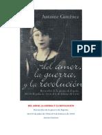 Antoine Giménez - Del Amor, La Guerra y La Revolución