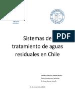 Sistemas de Tratamiento de Aguas Residuales en Chile
