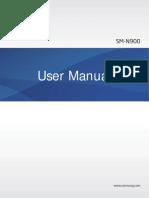 Galaxy Note 3 User Manual SM N900 Jellybean English 20131028