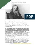 Dmitri Mendeleev, Geniul Din Inima Siberiei