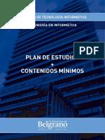 Plan Ingenieria en Informatica