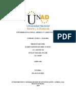 Unidad 2 Fase 3 Fundamentos de Investigación