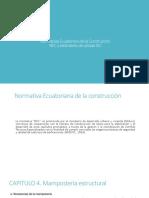 Normativas Ecuatoriana de La Construcción