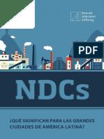 NDCs_ ¿Qué Significan Para Las Grandes Ciudades de América Latina_ (PDF)