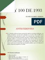 LEY 100 DE 1993    09-08-2019
