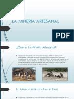 Mineria Artesanal