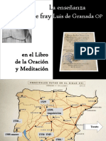 La Enseñanza de Fray Luis de Granada en El Libro de La Oración y Meditación