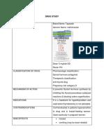 Drug Study (Tapazole)