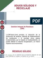 DIAPOSITIVAS CAMPAÑA RESIDUOS