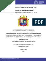 Implementacion Del Skip Con Guiaderas de Madera
