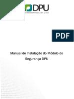 Manual dpu módulo segurança
