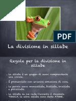 Divisione in Sillabe
