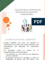 Aplicación de La Psicología Social en El Proceso