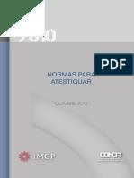Boletín7010 Normas Atestiguar