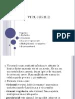 BIOLOGIE - VIRUSURILE