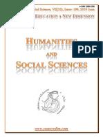 Seanewdim Hum Soc VII 33 Issue 199