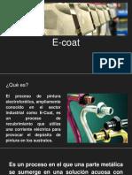 E-coat