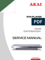 Akai Dv-p4785kdsm Dvd Player