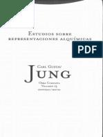 Estudios Sobre Representaciones Alquímicas - Volumen 13-  Carl Gustav Jung