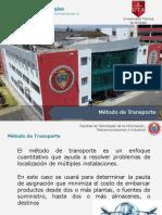 Tema 5. Método de Transporte