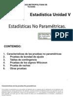 Pruebas Estadísticas No Paramétricas