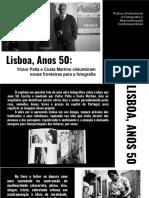 Lisboa, Anos 50