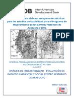 APOYO AL PROGRAMA DE MEJORAMIENTO DE LOS CENTROS HISTÓRICOS DE PERÚ PE-T1394
