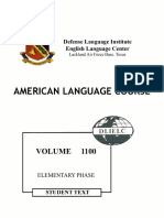 American Language Course Volume 1100 Elementary Phase