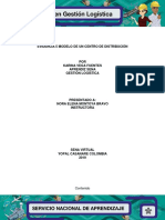 Evidencia 5 Modelo de Un Centro de Distribución Karina