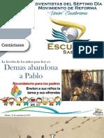 Material de Apoyo Escuela Sabática 08-4-2019