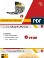 Gestión de Operaciones - Grupo 6 ( TECAVI - POLLO VIVO).pptx