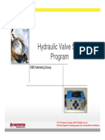 Hydraulic Valve Seal Program Sales Presentation REV01