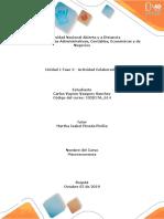 Actividad Individual - Macroeconomia Unidad 1 - Fase 2 - Carlos Vasquez