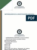Clase 1 Introdución a La Metodología de La Investigación