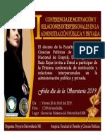 Invitacion Conferencia Secretaria