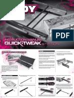 HUDY Quick-Tweak Station Instruction Manual