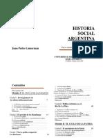 Historia Social Argentina-Lumerman