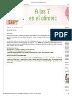 A Las 7h en El Olimpic_ Gnudi Al Horno