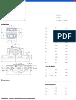 Mancais Bipartidos Série SNL e SE Para Rolamentos Em Uma Bucha de Fixação Com Vedações Padrão-SNL 518-615 %2B 22218 K %2B H 318